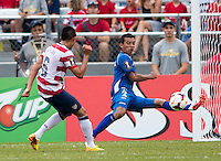 Joe Corona, Xavier Orellana.  The United States defeated El Salvador, 5-1, during the quarterfinals of the CONCACAF Gold Cup at M&T Bank Stadium in Baltimore, MD.