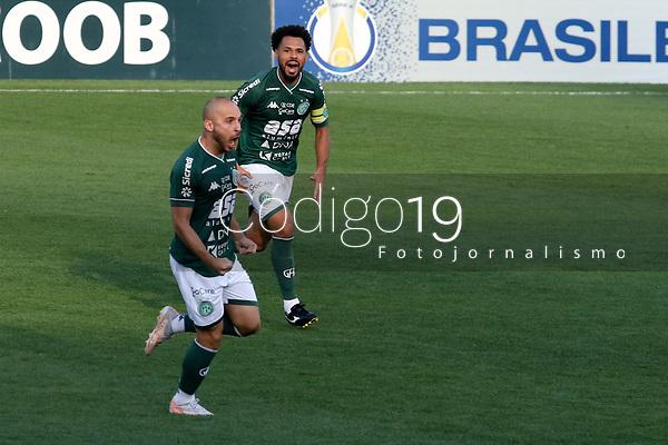 Campinas (SP), 07/09/2021 - Guarani-CSA - Andrigo comemora gol do Guarani. Partida entre Guarani e CSA valida pelo Campeonato Brasileiro da Série B no estádio Brinco de Ouro em Campinas, interior de São Paulo, nesta terça-feira (07).