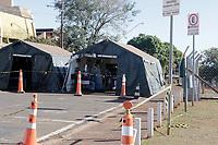 Campinas (SP), 21/06/2020 - Unicamp - Tenda de atendimento do Covid-19 no Hospital de Clinicas (HC) da Unicamp, localizado na cidade de Campinas, interior de São Paulo.