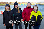 Drew O'Keeffe from Tralee celebrating his 12th birthday with a stroll around the Tralee Bay Wetlands on Thursday. L to r: Colin O'Shea, Laura Burke and Diana and Drew O'Keeffe.