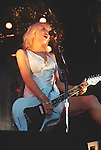 Various live photographs of the rock band, Hole
