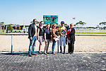 OLDSMAR, FL - JANUARY 21: Edgard J. Zayas, in the winners circle after winning the Pasco Stakes on Skyway Festival Day at Tampa Bay Downs on January 21, 2017 in Oldsmar, Florida. (Photo by Douglas DeFelice/Eclipse Sportswire/Getty Images)