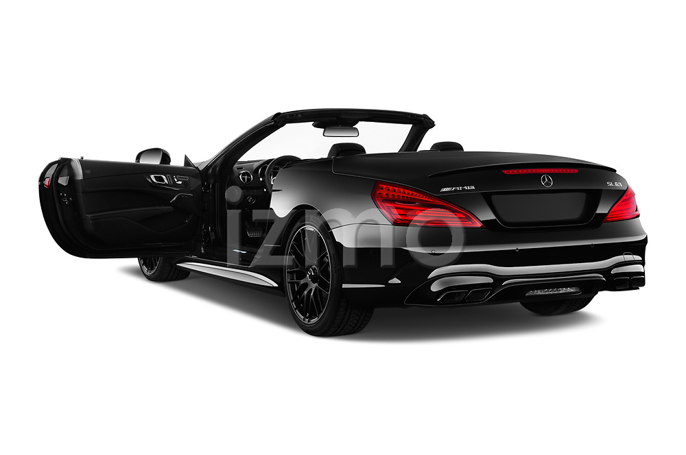 Car images of 2017 Mercedes Benz SL-Class AMG-63 2 Door Convertible Doors