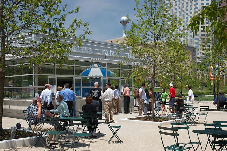 The Columbus Commons   Architects: Moody Nolan Landscape Architects: Edge Group