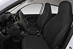 Front seat view of a 2018 Smart forfour Passion 5 Door Hatchback front seat car photos