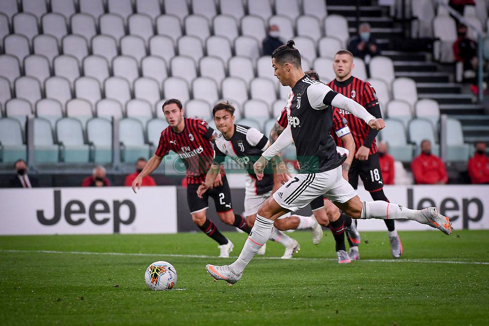 juventus milan during italian cup 2019 2020 turin realtime images 2