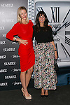 "Maria Leon (Left) and Nuria Roca (Right) at the presentation of the first woman watch of Suarez Brand at ""La casa encendida"" in Madrid, Spain. October 15, 2014. (ALTERPHOTOS/Carlos Dafonte)"