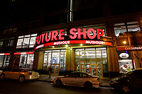 Montreal (QC) CANADA,  December 2007 File Photo of Future shop electronic store on ste-Catherine street west in downtown Montreal.<br /> <br /> Future shop announced today saturday march 28, 2015 that it closed all its Canadian stores<br /> <br /> <br /> <br /> <br /> photo : (c) ¨Pierre Roussel -  images Distribution