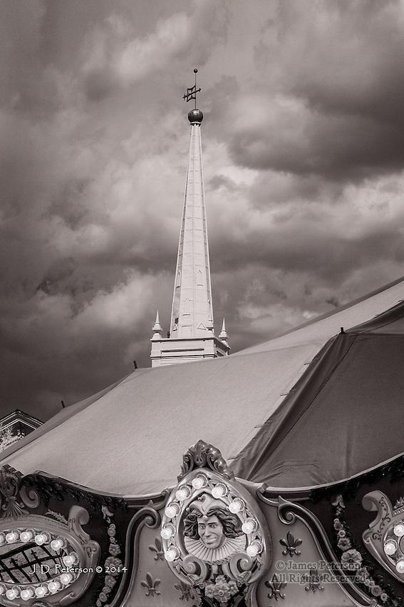 Carousel with Steeple, Saint George, Utah