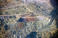 El Chino copper mine.  Silver City, New Mexico. Dec 2012