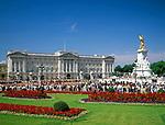 England, London: Buckingham Palace und Victoria Denkmal | United Kingdom, London: Buckingham Palace and Victoria Monument