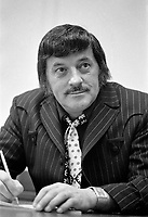 Willie Lamothe<br /> le  17 mars 1971<br /> <br /> Photographe : Photo Moderne<br /> - agence Quebec Presse