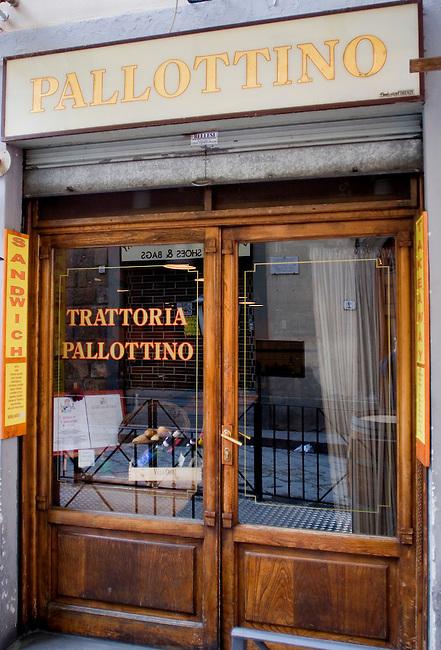 Exterior, Pallottino Restaurant, Florence, Italy