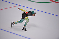 OLYMPIC GAMES: PYEONGCHANG: 23-02-2018, Gangneung Oval, Long Track, 1000m Men, Daniel Greig (AUS), ©photo Martin de Jong