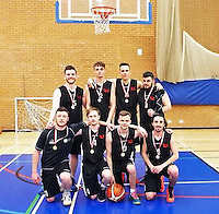 """COPY BY TOM BEDFORD<br /> Pictured: Dominic Newton (FRONT ROW LEFT), image found on his open facebook page.<br /> Re: A Swansea university student has collapsed during a basketball match and died later in hospital.<br /> Dom Newton was captain of the basketball team and a third year student at University of Wales Trinity Saint David.<br /> He was playing with the team last night when he collapsed on the court.<br /> Emergency services were called and he was rushed to hospital where he sadly later died.<br /> A statement on the university Student Union's Facebook page said: """"All our thoughts and prayers are with the family and friends of our Basketball Captain Dom Newton today, who tragically passed away last night."""