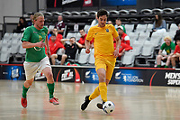 Thomas Petersen of Southern during the Men's Futsal SuperLeague, Central Futsal v Southern United Futsal at ASB Sports Centre, Wellington on Saturday 31 October 2020.<br /> Copyright photo: Masanori Udagawa /  www.photosport.nz