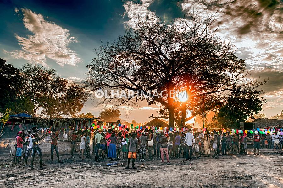 Festa religiosa Romaria de Nossa Senhora no quilombo Vao de Almas em Cavalcante. Goias. 2015. Foto de Sergio Amaral.