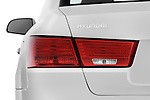 Tail light close up detail view of a 2010 Hyundai Sonata GLS