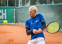 Netherlands, September 27,  2020, Beneden-Leeuwen, TV Lewabo, Competition, Men's premier league, TV Lewabo vs TV Suthwalda, Doubles:   Kilian (NED) and Dallinga (NED)<br /> Photo: Henk Koster/tennisimages.com