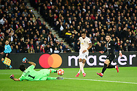 Marcus Rashford (Man Utd) vs BUFFON Gianluigi (PSG) <br /> Parigi 6-03-2019 <br /> Paris Saint Germain - Manchester United <br /> Champions League 2018/2019<br /> Foto JB Autissier / Panoramic / Insidefoto
