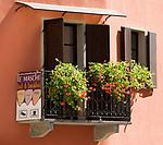 Italien, Piemont, Langhe, Diano d'Alba: Bed and Breakfast, Balkon | Italy, Piedmont, Langhe, Diano d'Alba: bed and breakfast, balcony