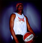 Sherri Sam member of the WNBA's  Miami Sol, Miami.