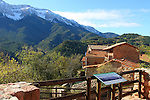 El Barida. Poble de Cava. Mirador. Alt Urgell.