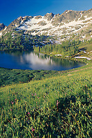 Corral Lake<br /> Pasayten Wilderness<br /> Okanagon National Forest<br /> Cascade Range,  Washington