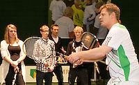 7-1-00, Rotterdam, Tennis, ABNAMROWTT, kidsplaza, tennisplaza