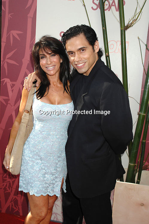 """Danny Arroyo and girlfriend Michelle..arriving at The SOAPnet's """"Night Before Party"""" for the ..nominees of the 2007 Daytime Emmy Awards on            June 14, 2007 at Boulevard3 in Hollywood, California...Robin Platzer, Twin Images........212-935-0770"""