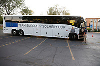 6th September 2021: Toledo, Ohio, USA;  Team Europe leaves on the team bus after winning the Solheim Cup on September 6, 2021 at Inverness Club in Toledo, Ohio.