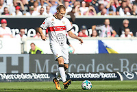 Holger Badstuber #28 (VfB Stuttgart), VfB Stuttgart vs. FC Augsburg, Football, 1.Bundesliga, 23.09.2017 *** Local Caption *** © pixathlon<br />