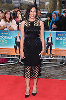 """Sarita Choudhury<br /> arrives for the premiere of """"A Hologram for the King"""" at the Bfi, South Bank, London<br /> <br /> <br /> ©Ash Knotek  D3110 25/04/2016"""