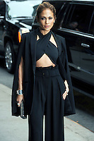 """Jennifer Lopez arrives at the """"Late Show With David Letterman"""""""