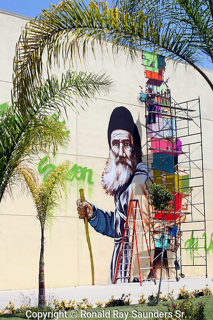 Public art in the making:<br />