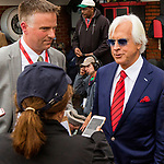 BALTIMORE, MD,  MAY 19: Bob Baffert, trainer of Justify, #7, before the 143rd Preakness Stakes at Pimlico Racecource on May 18, 2018 in Baltimore, Maryland. (Photo by Sue Kawczynski/Eclipse Sportswire/Getty Images)