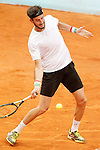Luca Vanni during Madrid Open Tennis 2015 match.May, 4, 2015.(ALTERPHOTOS/Acero)