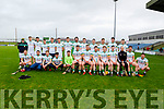 Offaly team that played Kerry in Div 2 of the National Hurling League in Austin Stack Park on Sunday.