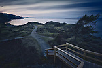 Tranquil sunset scenery of the Pacific ocean coast at Nanaimo Neck Point Park, Vancouver Island, BC, Canada. Image © MaximImages, License at https://www.maximimages.com