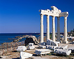Turkey, Province Antalya, Side, Temple of Apollo