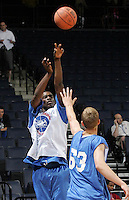 PF Andre Clark (North Little Rock, AR / North Little Rock West) shoots the ball during the NBA Top 100 Camp held Saturday June 23, 2007 at the John Paul Jones arena in Charlottesville, Va. (Photo/Andrew Shurtleff)
