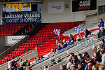 Doncaster Rovers Belles 1 Chelsea Ladies 4, 20/03/2016. Keepmoat Stadium, Womens FA Cup. Chelsea fans celebrate their teams second goal. Photo by Paul Thompson.