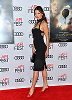 "LOS ANGELES, USA. November 20, 2019: Sofia Milos at the gala screening for ""The Aeronauts"" as part of the AFI Fest 2019 at the TCL Chinese Theatre.<br /> Picture: Paul Smith/Featureflash"