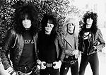 Motley Crue 1981<br /> © Chris Walter