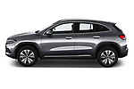 Car Driver side profile view of a 2021 Mercedes Benz EQA 250-Business 5 Door SUV Side View