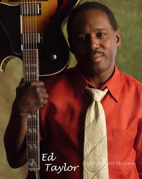 Music CD cover shot of Jazz guitarist Ed Taylor