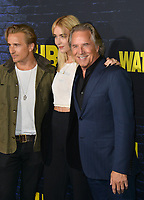 """LOS ANGELES, USA. October 15, 2019: Don Johnson, Jesse Johnson & Grace Johnson at the premiere of HBO's """"Watchmen"""" at the Cinerama Dome, Hollywood.<br /> Picture: Paul Smith/Featureflash"""