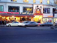 Berlin city center traffic