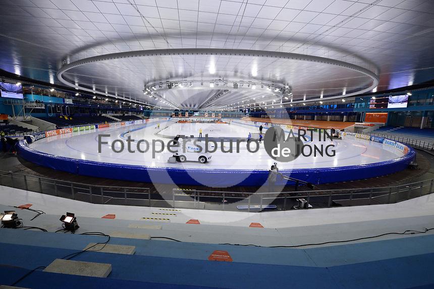 SCHAATSEN: HEERENVEEN: 21-11-2020, IJsstadion Thialf, Daikin NK ALLROUND, overzicht, ©foto Martin de Jong