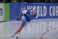 SPEEDSKATING: 22-11-2019 Tomaszów Mazowiecki (POL), ISU World Cup Arena Lodowa, 5000m Men Division A, Denis Yuskov (RUS), ©photo Martin de Jong